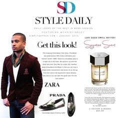 Explore this interactive image: SimplyDapper Style Daily January 30TH by SimplyDapper.Com. ThingLink