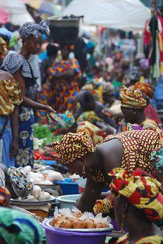 Serekunda, ville de la Gambie