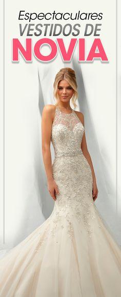 b95210be6 Así de espectacular lucirás con el vestido de novia más hermoso de acuerdo  a tu cuerpo