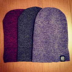 Heather beanies. <3 the colors