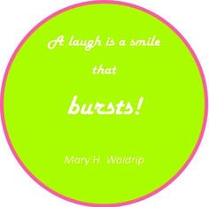 Laughter is a joyous gift from God!