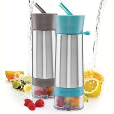Infuse your water with fresh herbs, berries, and more with these fabulous Aqua Zingers! -- $29.00 -- Get yours today at Silver Basin 907.747.7607