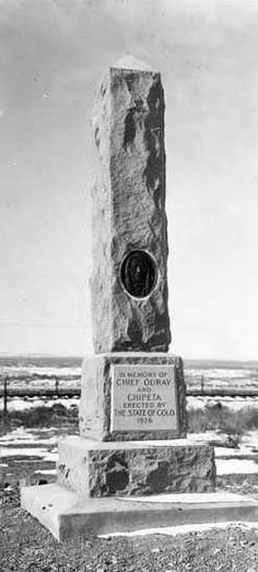 """Chief Ouray.   Native American Chief. The chief of the Ute Nation, he was born to an Uncompahgre Ute mother and a Jicarilla Apache father. They named him Ouray, """"the Arrow"""", because of a great meteor shower the year he was born.  Ouray Memorial Park, Montrose, Colorado.  Read more......"""