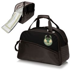MILWAUKEE BUCKS Fully-Insulated Duffel Cooler - Stratus by Picnic Time
