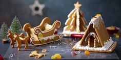 Our Christmas Gingerbread Activity Kit comes with ready-made gingerbread dough, icing, jelly diamonds and silver balls: http://www.waitrose.com/shop/DisplayProductFlyout?productId=371658
