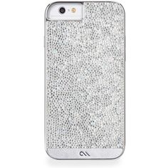 Diamond Brilliance iPhone 6 Case ($84) ❤ liked on Polyvore featuring accessories, tech accessories, phone cases, phone, iphone, cases and silver