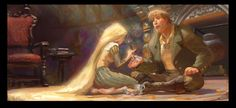 Dive into The Art of Dan Cooper, Visual Development Artist at Walt Disney Animation Studios. Tangled Concept Art, Disney Concept Art, Art Of Dan, Color Script, Tangle Art, Disney Tangled, Tangled 2010, Tangled Rapunzel, Disney Fun