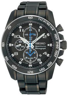 Seiko Mens Sportura Alarm Chronograph watch (SNAE77P1)