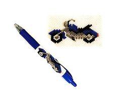 Motorcycle Beaded Pen Wrap Pattern