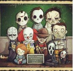 La vieja escuela del terror