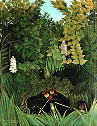 The Merry Jesters by Rousseau
