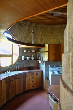 One of Frank Lloyd Wright's last residential design for his son David Wright is a tour de force of the master's late period.