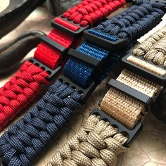 The original paracord watch band company. Offering handmade paracordwatch bands, bracelets, watches and other everyday items using my custom paracord adapters.