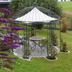 Eisenpavillon Gartenpavillon Pavillon Rosenpavillon Metallpavillon Pavillion 300cm