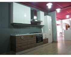 Modello cucina con ante vetro laccato spessore 22 MM composte da una ...