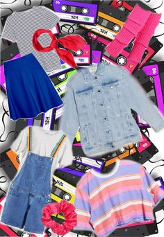 Some ideas to get you started on an '80s /Stranger Things inspired costume. Diy Halloween Costumes, Stranger Things, Inspired, How To Wear, Ideas, Strange Things, Thoughts