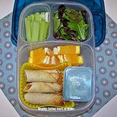 School Lunches: Chicken and Cheese Taquitos