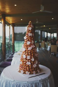 croquembouche - French wedding cake...mmmmmm | photo by C J Williams