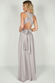 Moment Like This Multi Wrap Maxi Dress