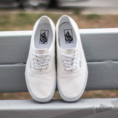 Vans Authentic Decon Premium Leather True White - Footshop