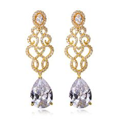 """Earring JSS-560 USD48.84 ~ USD55.72, Click photo to know how to buy / Skype """" lanshowcase """" for discount, follow board for more inspiration"""