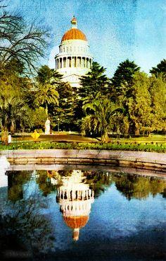 California State Capitol 1960's