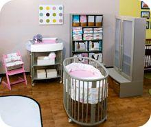 ultra contemporary baby room