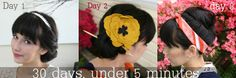 Dirty Hair Month.   30 days, 30 hairstyles  For dirty hair all 5 minutes and under!