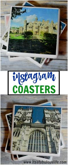 DIY Instagram Coasters - Perfect Gift Idea! #SaveYourMemories #ad