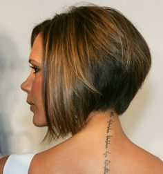 Inverted Bob...victoria beckham