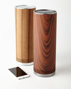 Stelle Audio Wood Pillar Speaker