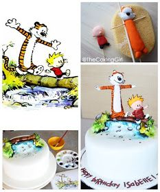 Calvin and Hobbes Cake!