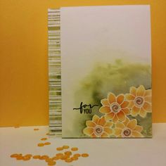 Watercolor Flowers Stamps of Life