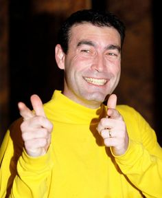 Greg Page. January 16, 1972. Singer. Member of the Wiggles.