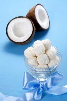 Receita de Balas de coco