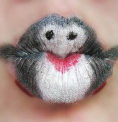 Penguin kiss #macwonderland