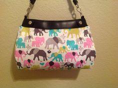 Elephant walk Michael miller  handmade Thirty by ShellyJayneCovers, $18.75
