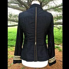 "Selling this ""Free People black silky back zipper blazer Jacket"" in my Poshmark closet! My username is: richbororiches. #shopmycloset #poshmark #fashion #shopping #style #forsale #Free People #Jackets & Blazers"