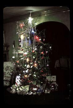 Kodachrome 1948 Christmas tree