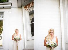 How much do you love this bridal look? I'm in love. This is a perfect example of a great way to transition from an updo during your cerem. Vintage Wedding Hair, Bridal Looks, Im In Love, Updos, Wedding Hairstyles, Wedding Dresses, Hair Styles, Fashion, Up Dos