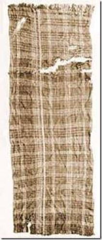 The Huldremose Woman's scarf. (Glob 25A).