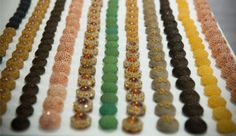'50 luxury buttons Made in Italy. Ideal to create bijoux.
