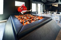 Ball pit in the office!