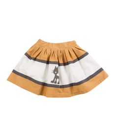 Lourdes - Jungle Skirt £13.99 You know what they say, if a black cat crosses your path it's good luck. But what about your skirt? It's a mindfield, I tell you.   100% cotton Machine washable Imported