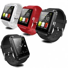 U8 Bluetooth Smartwatch Wrist Watch for IOS Android Phones Photo 2