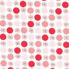 Daisy Dots Pink - Kelani