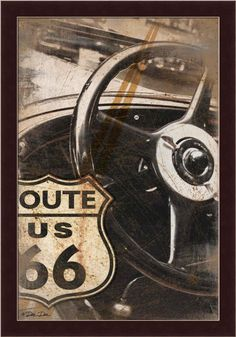 home decor Route 66