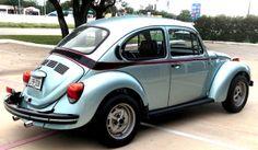 marathon blue beetle   109 kabug 73 sports bug marathon blue 1973 beetle late