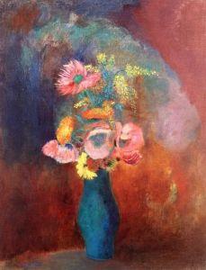 Vase of Flowers - Odilon Redon - The Athenaeum