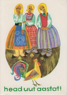 Soviet Postcards Estonian